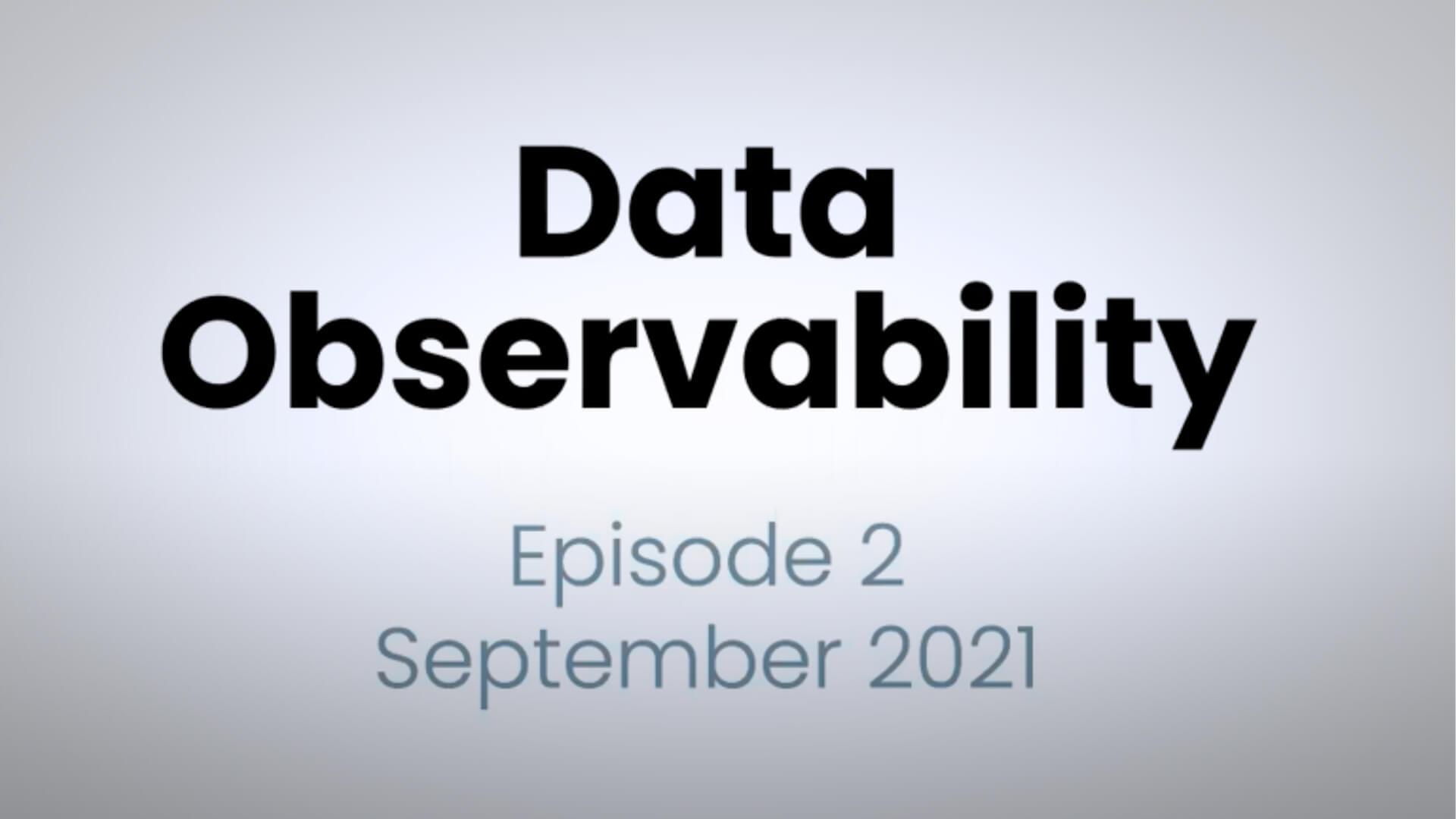 Thumb-data observability